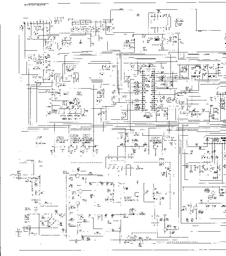 PANASONIC MX1 Service Manual download, schematics, eeprom