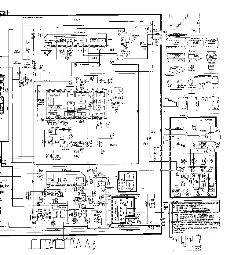 PANASONIC TC-14D1 Service Manual download, schematics