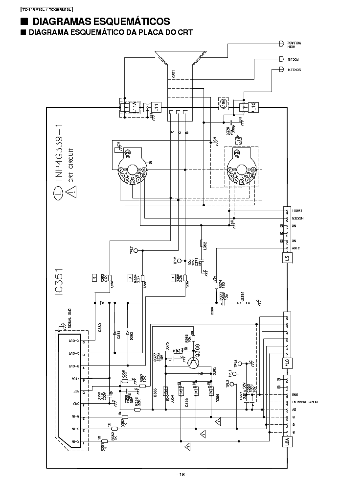 PANASONIC TC-14RM10L,TC-20RM10L Service Manual download