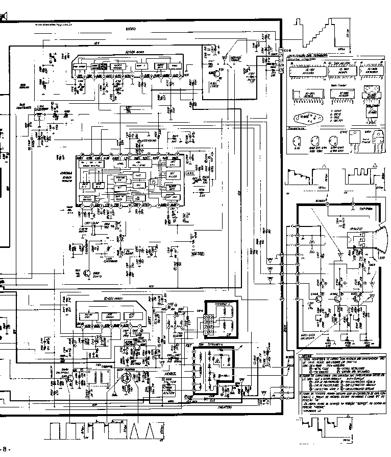 PANASONIC TC-20D1 Service Manual download, schematics