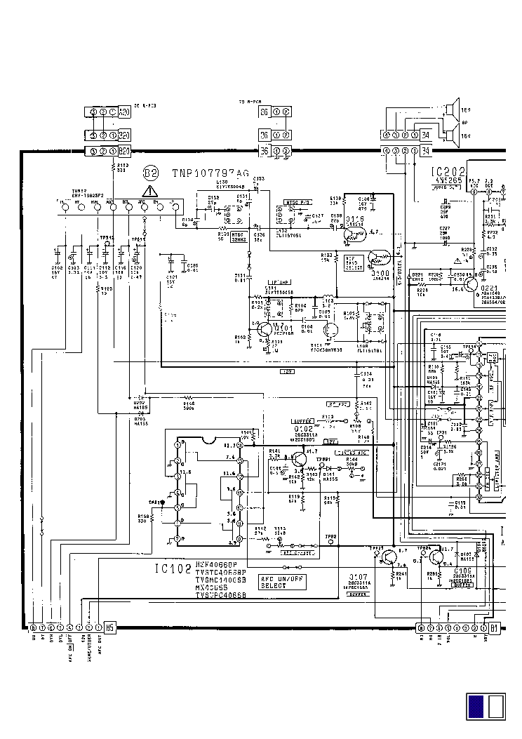 PANASONIC TC-21L1R Service Manual download, schematics
