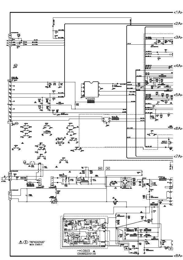 PANASONIC TC-21RX20V SCH Service Manual download