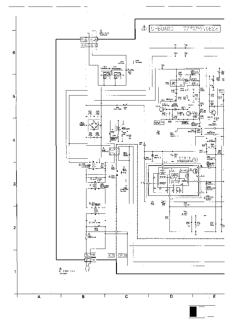 PANASONIC TC-28WG20R Service Manual download, schematics