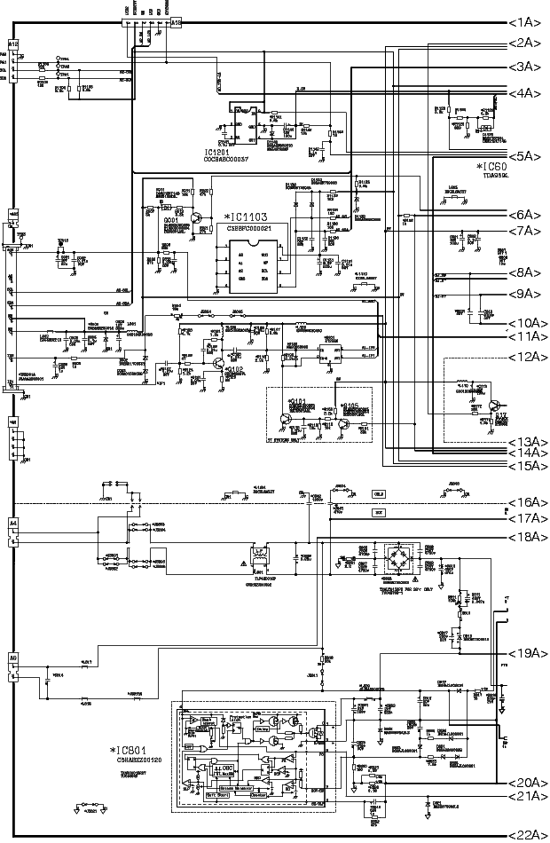 PANASONIC TC-29FJ20M Service Manual download, schematics