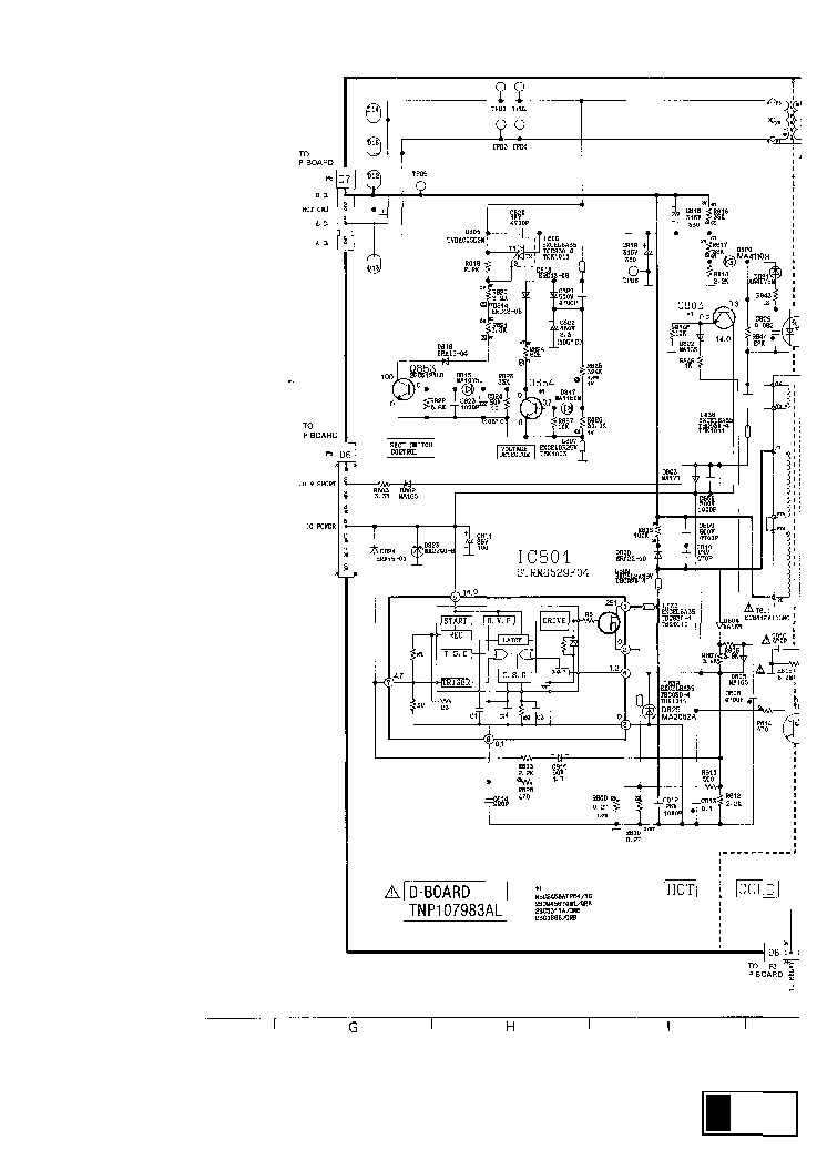 PANASONIC TC-29GF10R Service Manual download, schematics