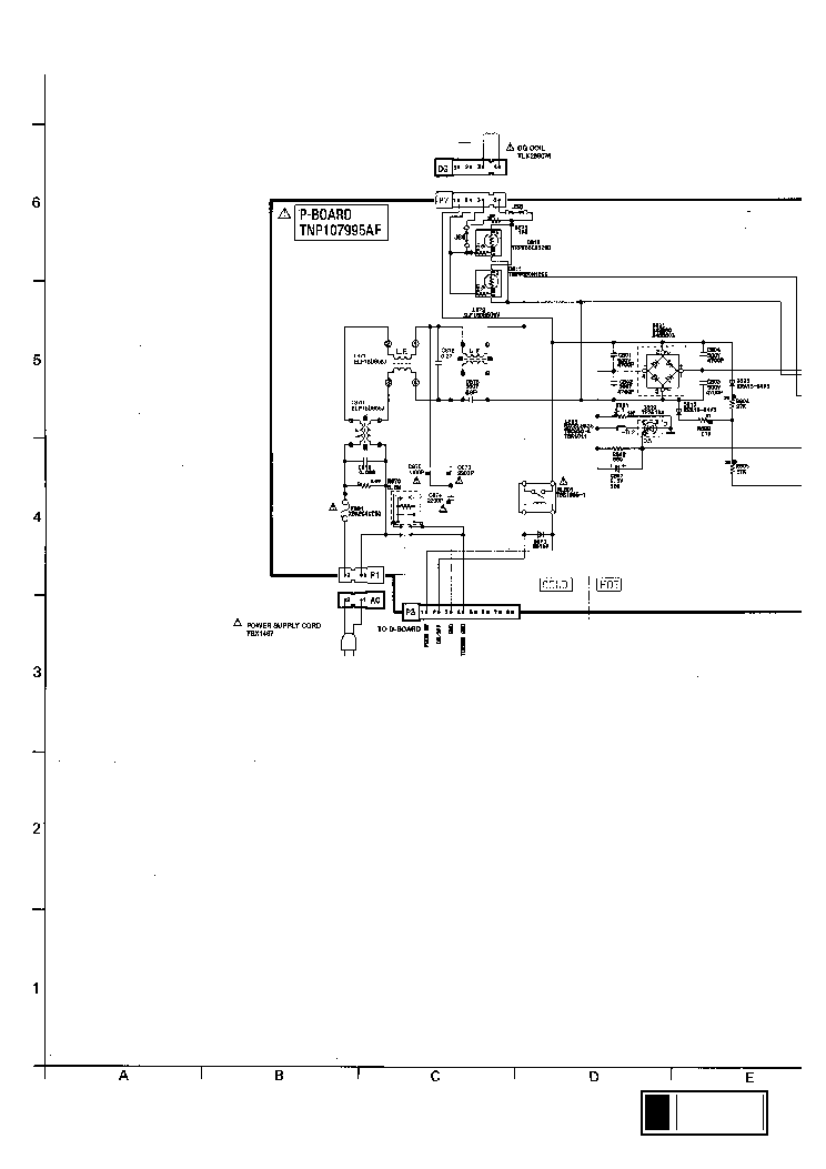 PANASONIC TC-29GF15R Service Manual download, schematics