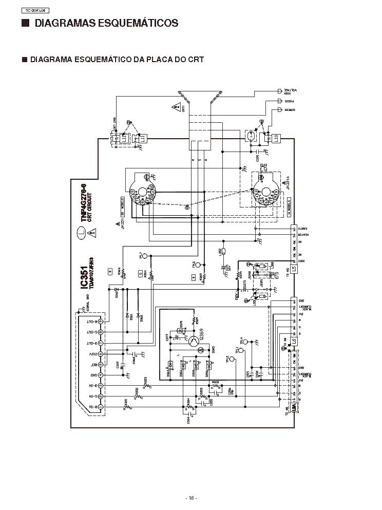 PANASONIC TH-42PW5 SCH Service Manual download, schematics
