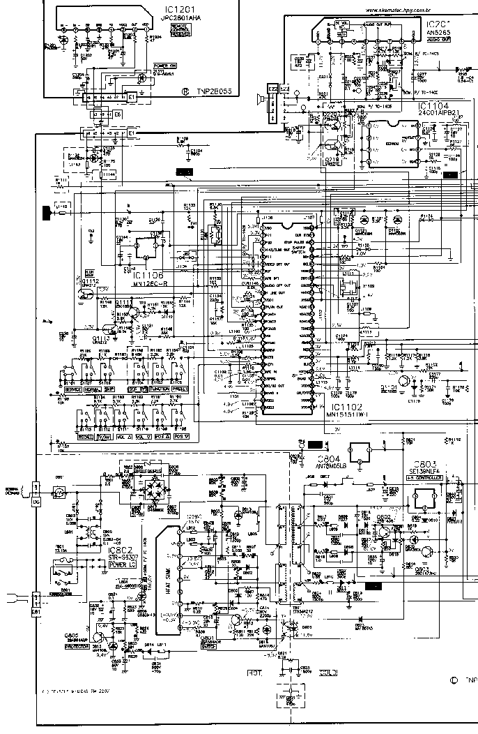 PANASONIC TC20C5 Service Manual download, schematics