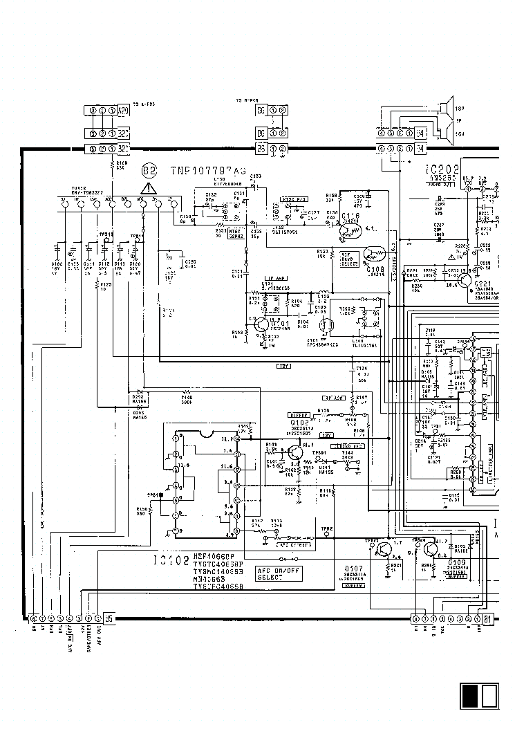 PANASONIC TV TC-21L1R Service Manual download, schematics