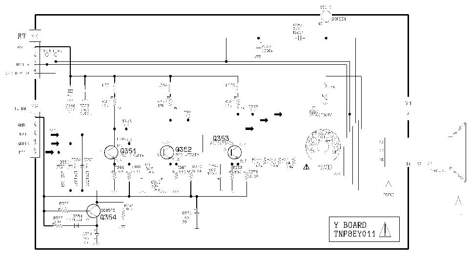 PANASONIC TX-14S3T Service Manual download, schematics