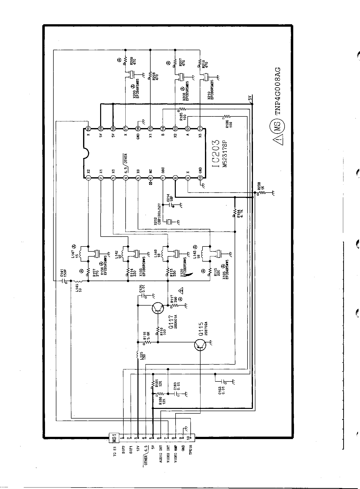 PANASONIC TX-21FT1 Service Manual download, schematics