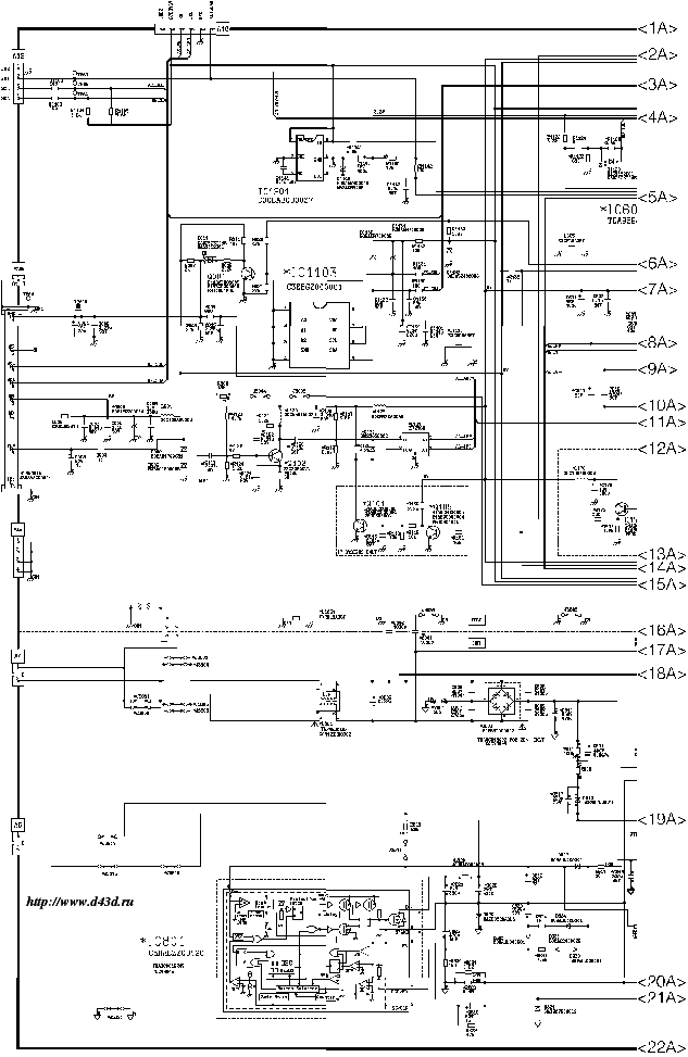 PANASONIC TX-29FJ20T Service Manual download, schematics
