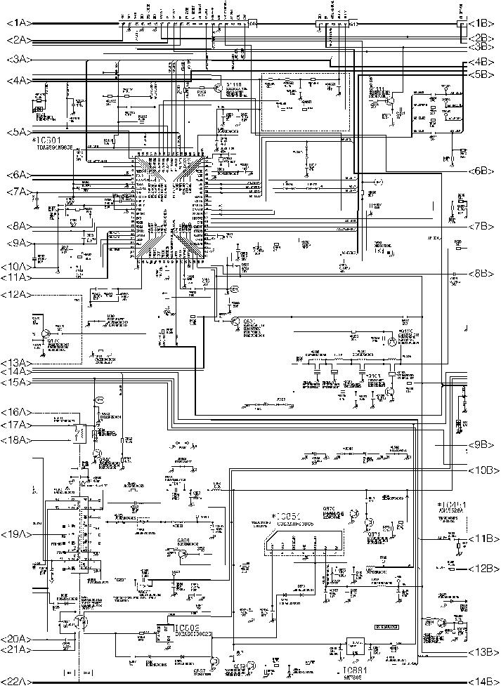 PANASONIC TX-29FJ20T Service Manual download, schematics