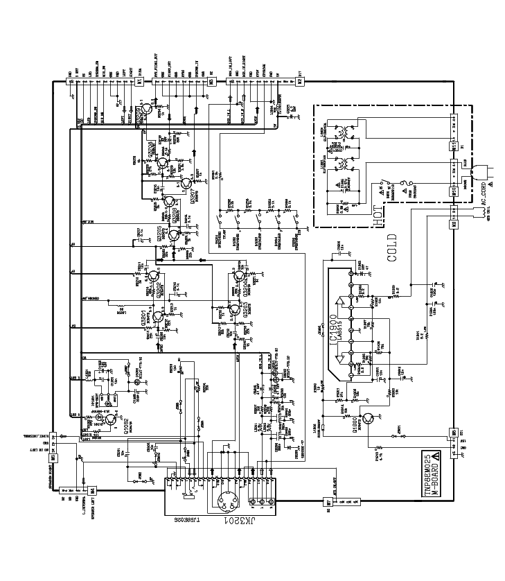 PANASONIC TC-20G12 SCH Service Manual download, schematics