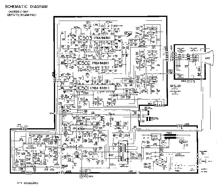PHILIPS 14PT135A Service Manual download, schematics