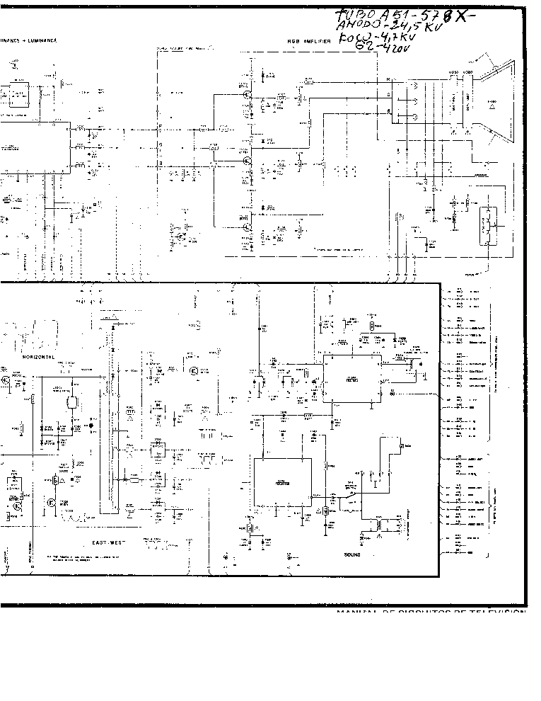 PHILIPS 20CN4465 Service Manual download, schematics