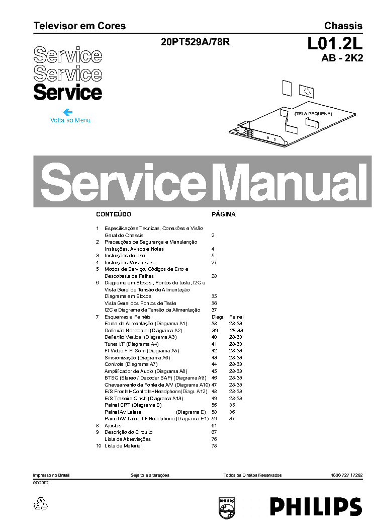 PHILIPS TPN10.1ELA Service Manual free download