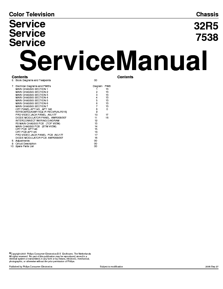 PHILIPS CHASSIS LC4.31E-AB Service Manual free download