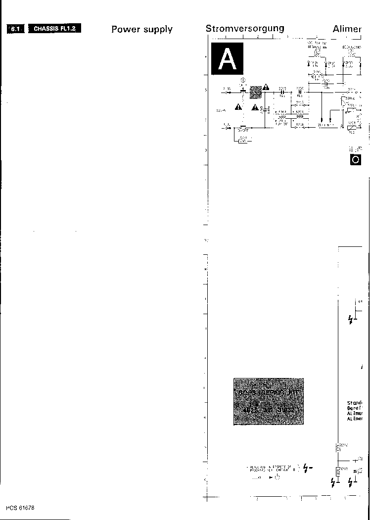 PHILIPS CH FL1.2AB,BB Service Manual download, schematics