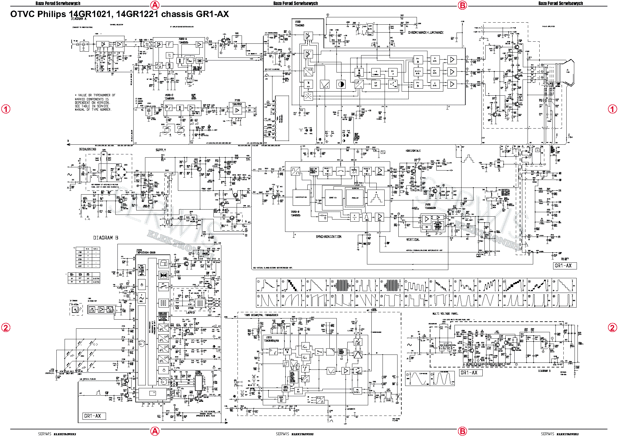 PHILIPS CHASSIS Q551.1E LA Service Manual download