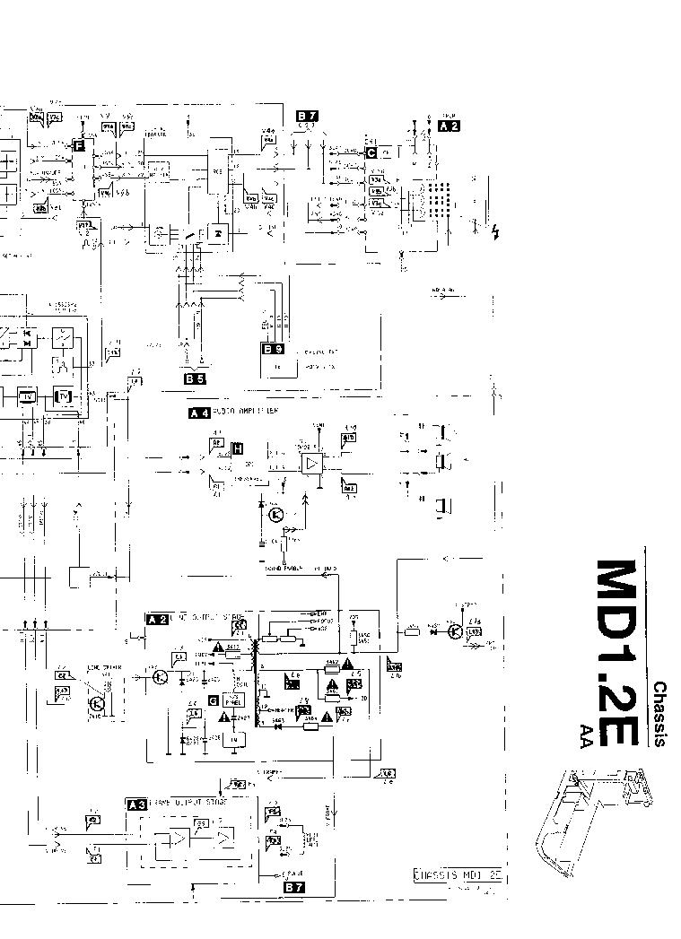 PHILIPS CH MD1.2E Service Manual download, schematics