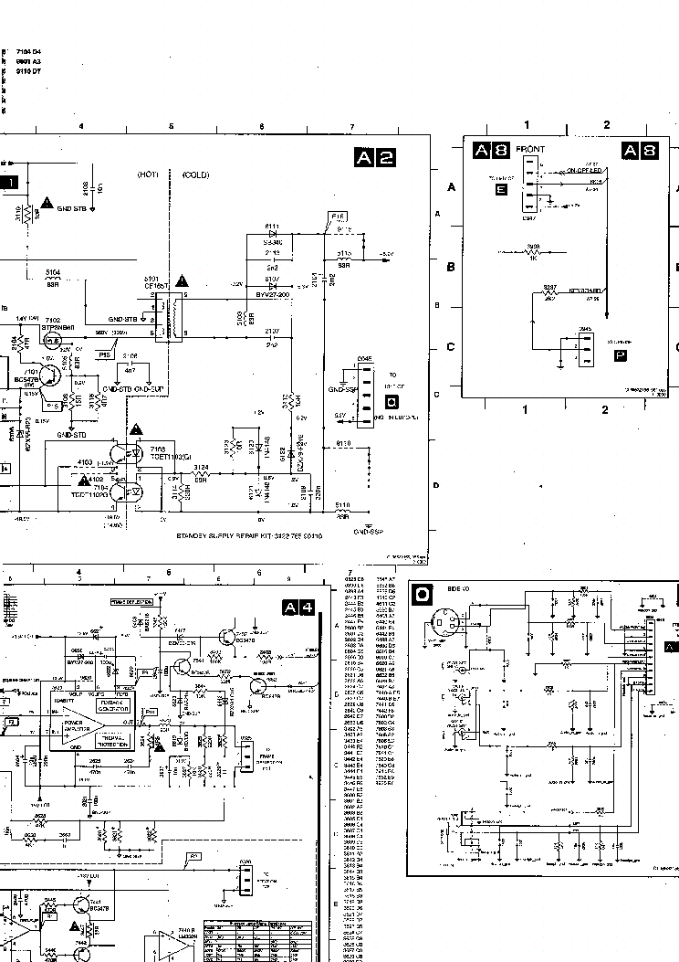 PHILIPS CHASSIS-EM2E Service Manual download, schematics