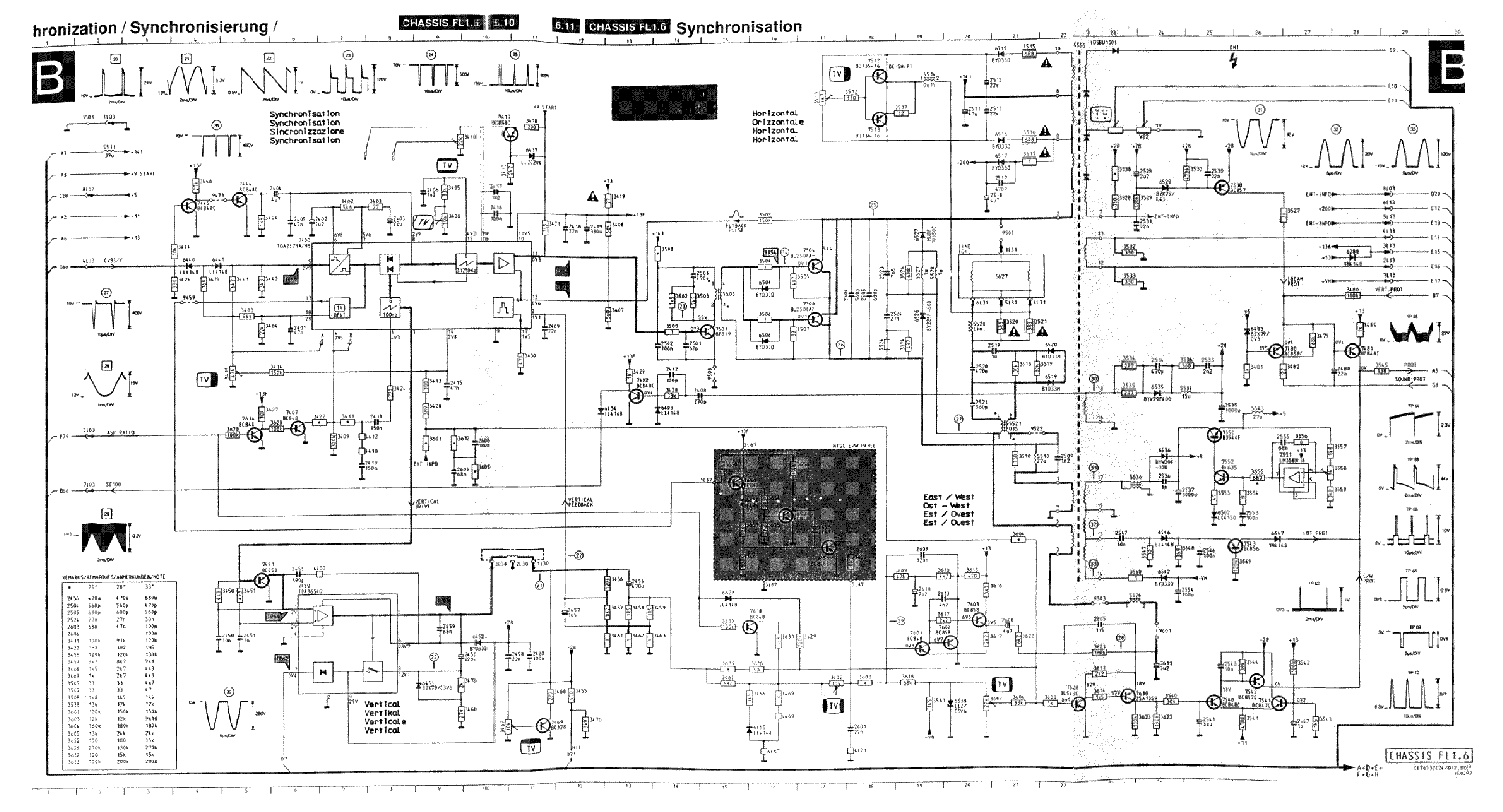 PHILIPS CHASSIS FL1.6 SCH Service Manual download