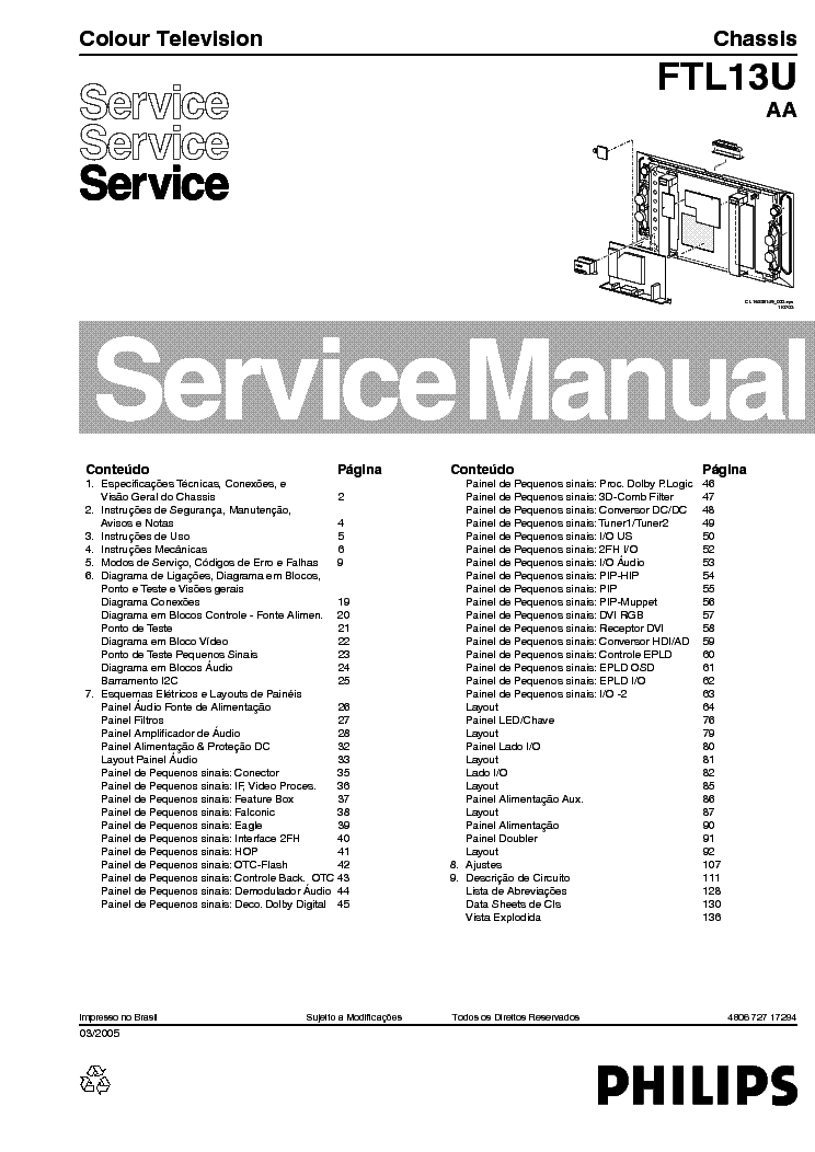 PHILIPS CHASSIS-ANUBIS-A-AB Service Manual free download