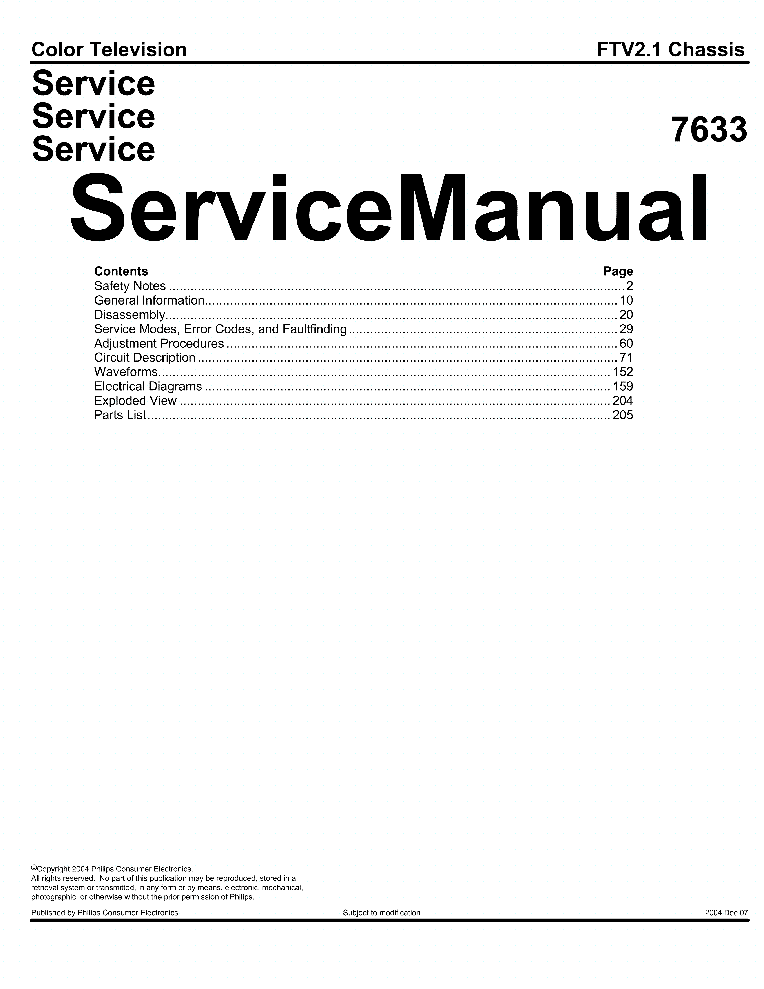 PHILIPS CHASSIS-L01.2E-AA Service Manual download