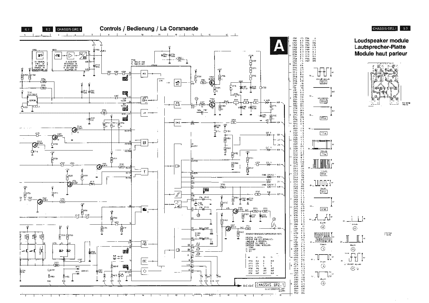 PHILIPS L01.2A-AA CHASSIS SM Service Manual free download