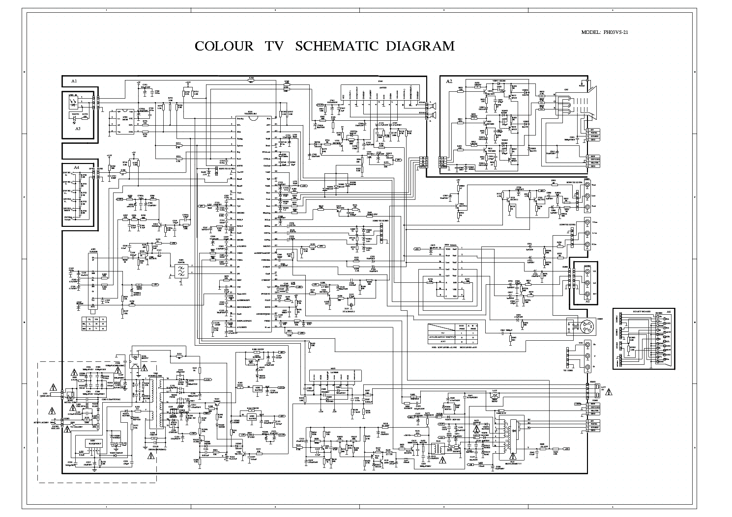 POLAR CHASSIS M113 SCH Service Manual download, schematics