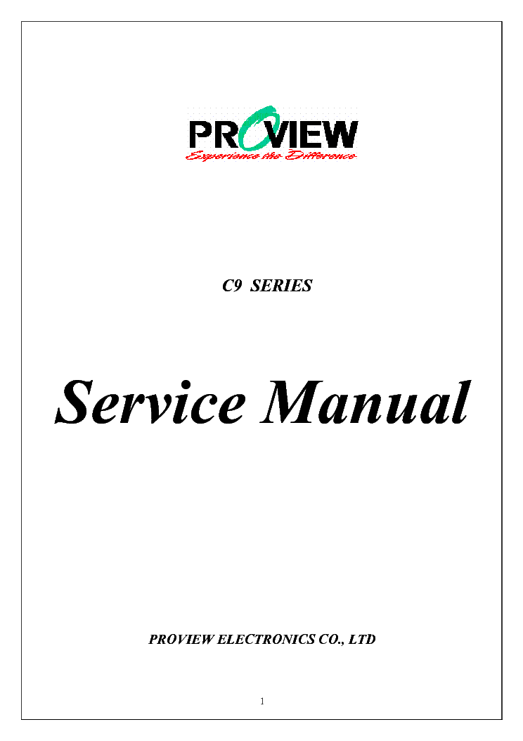 PROVIEW MEMOREX MLTD3222 OLD BT3212-XAH SCH Service Manual