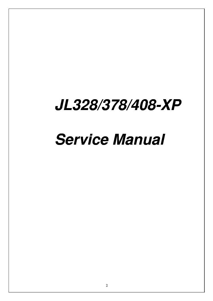PROVIEW JL328 378 408 XP Service Manual download