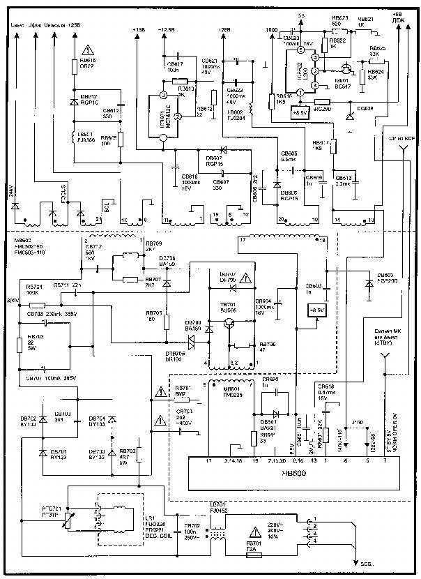 SALORA L40 Service Manual download, schematics, eeprom