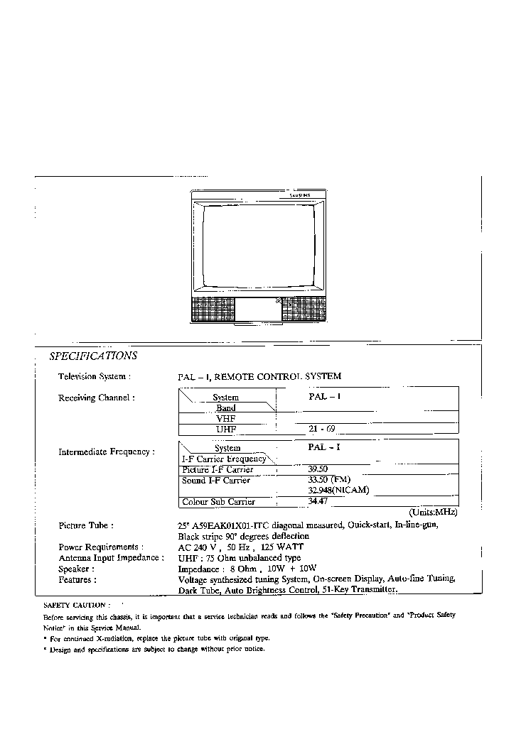 SAMSUNG-CK1591 CI5913W Service Manual download, schematics