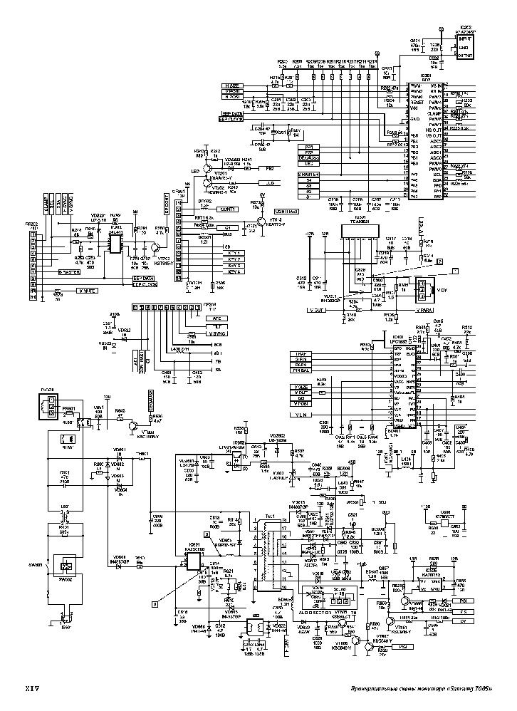SAMSUNG 700S Service Manual download, schematics, eeprom