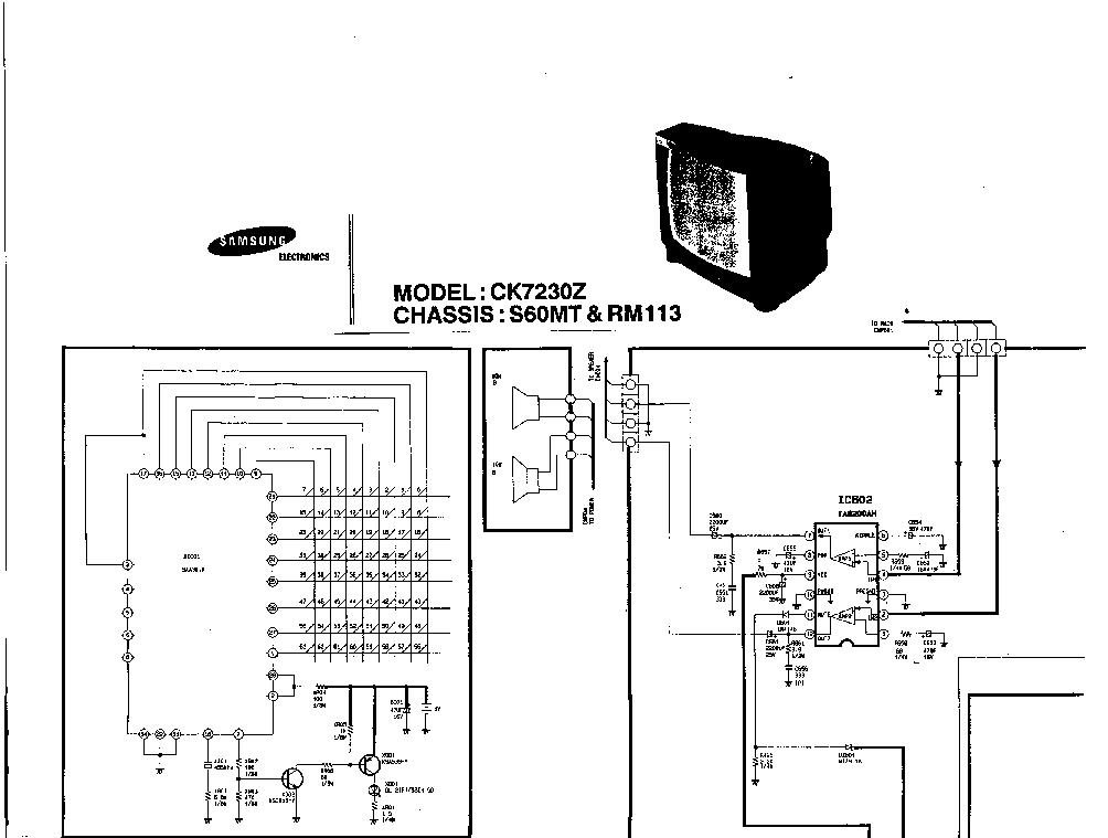 SAMSUNG CK-7230Z-CH.S60MT-SCHEM Service Manual download