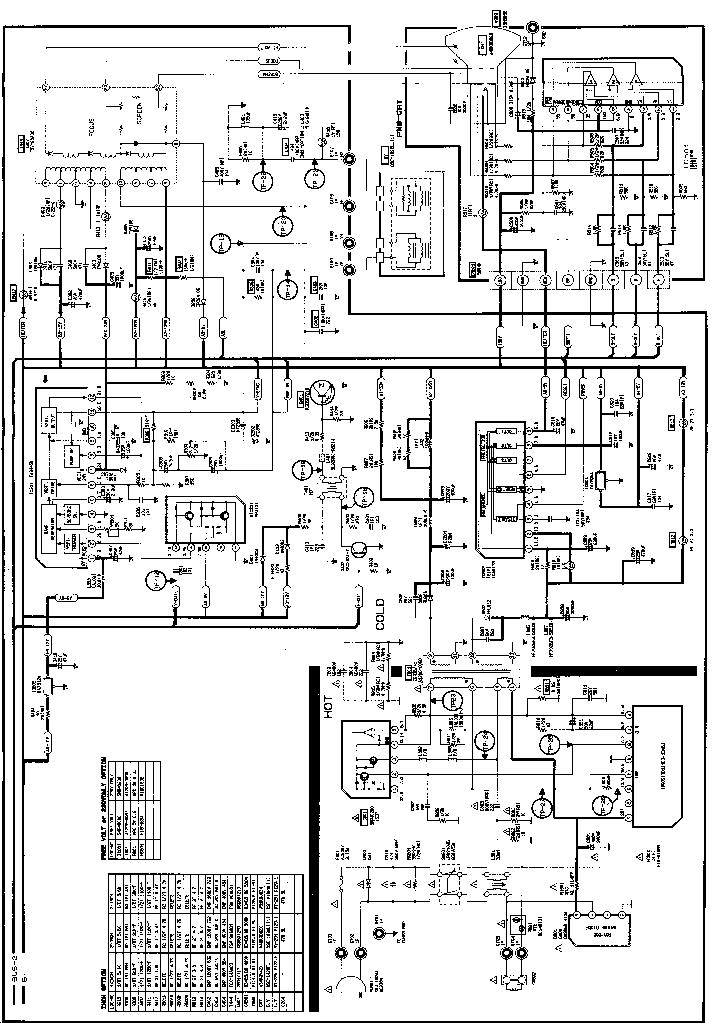 SAMSUNG CK5085 TV Service Manual download, schematics