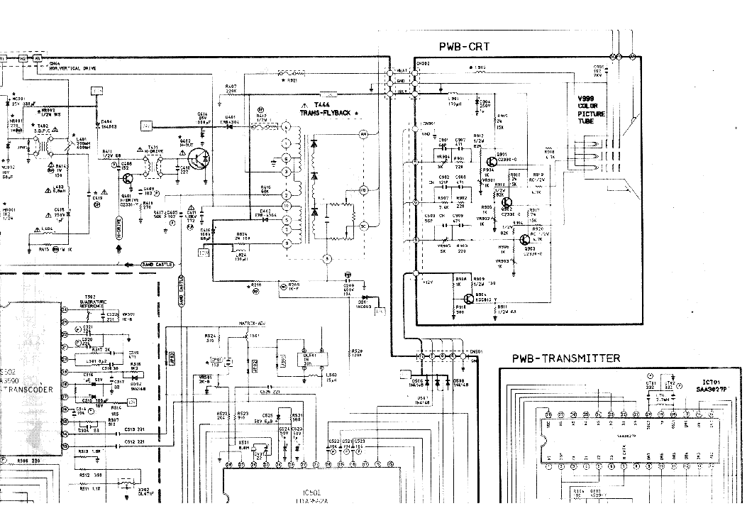 SAMSUNG CK5322 TV Service Manual download, schematics