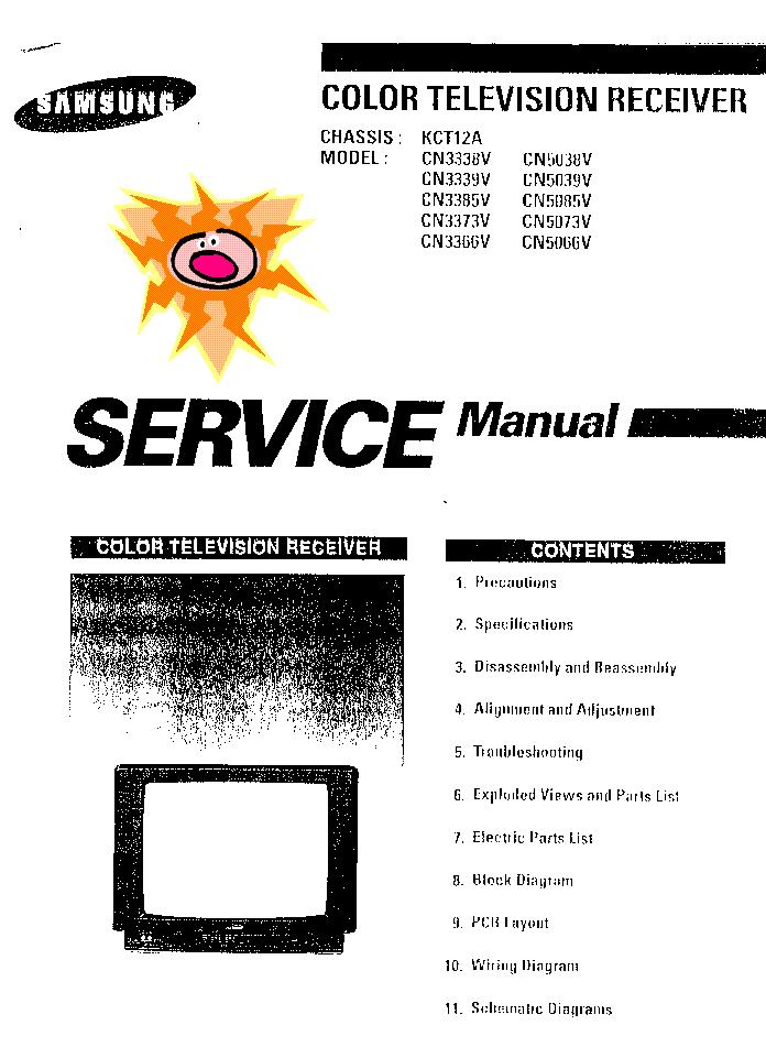 SAMSUNG CN3338V,3339V,3373V,3385V,3366V,5038V,5039V,5085