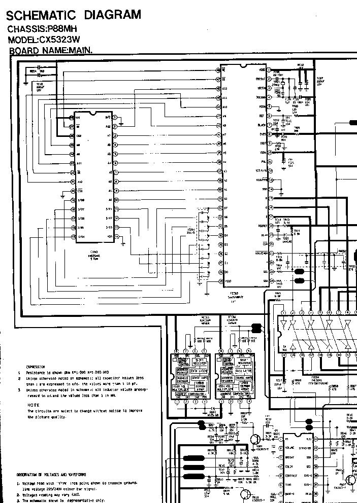 SAMSUNG CX5323W CH P88MH Service Manual download