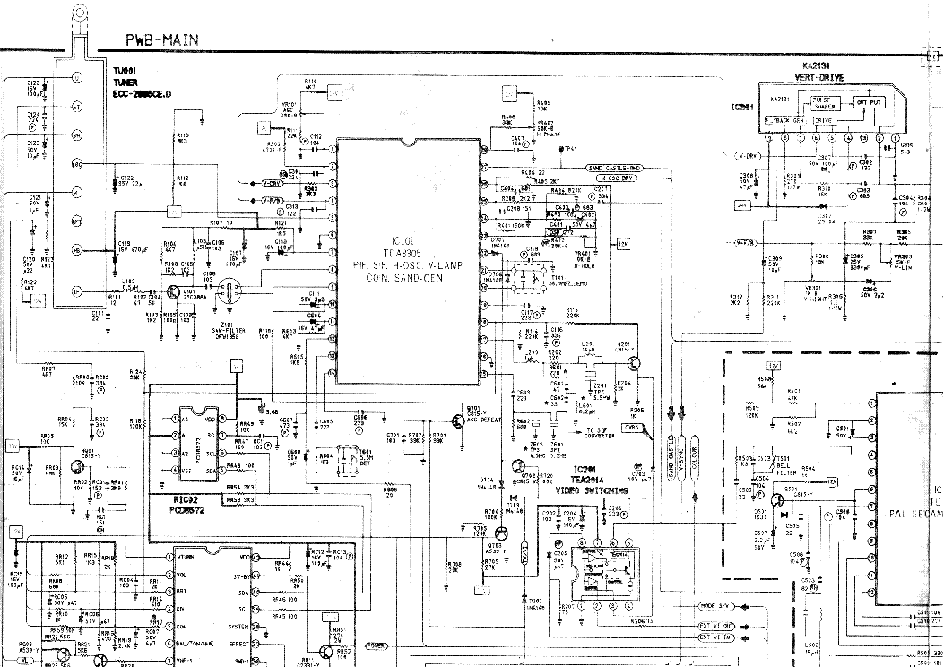 SAMSUNG SAM5322 Service Manual download, schematics