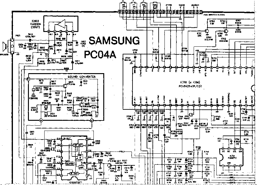 SAMSUNG P54S~CK542ZSE Service Manual download, schematics