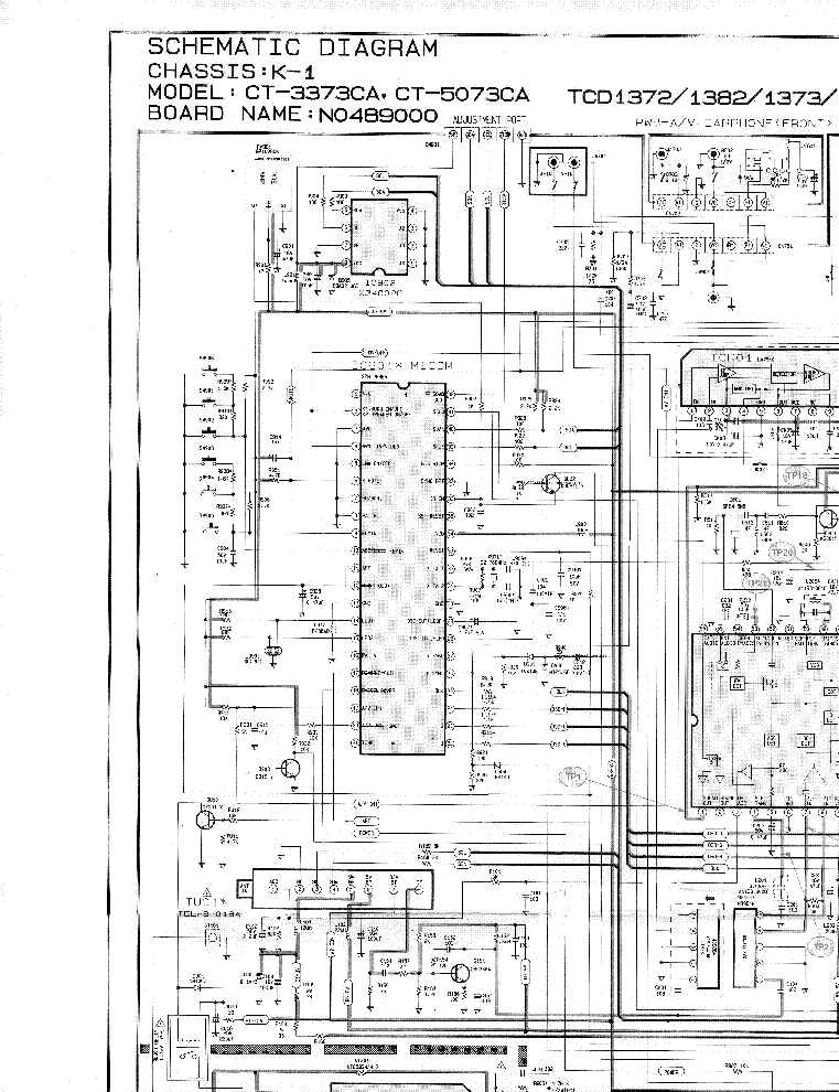 SAMSUNG TXD1972-CHASIS-K1-CIRCUIT-DIAGRAM Service Manual