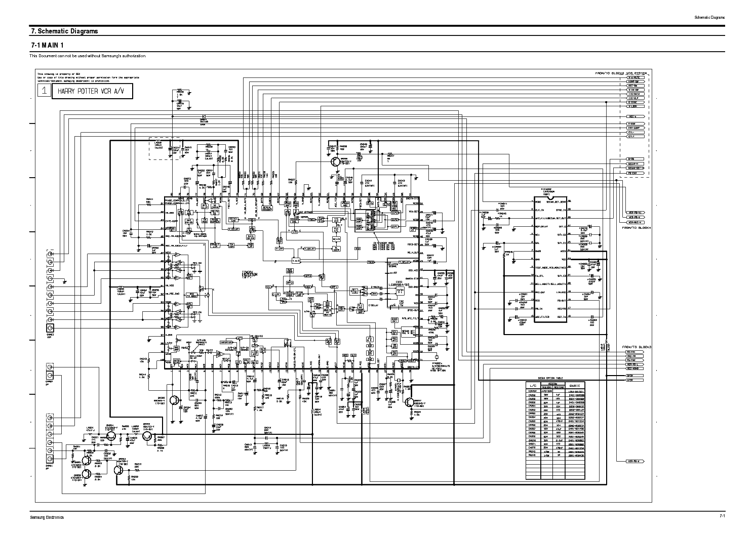 Samsung Uw28j10 Chassis C18a Service Manual Download Schematics Eeprom Repair Info For