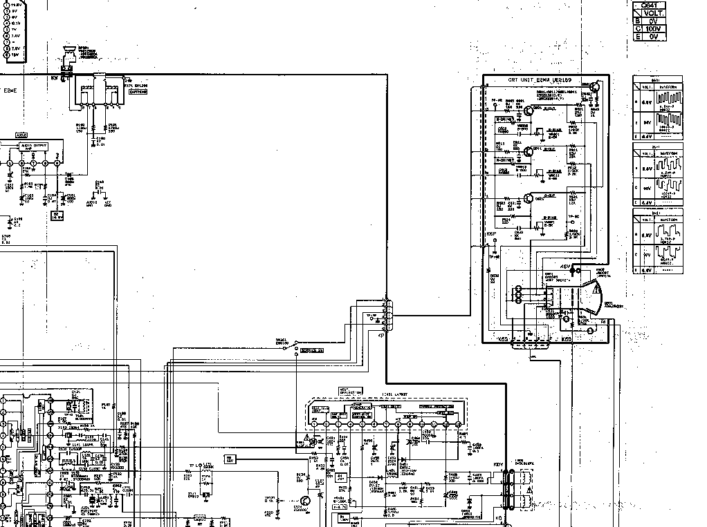 SANYO DS19330 Service Manual download, schematics, eeprom
