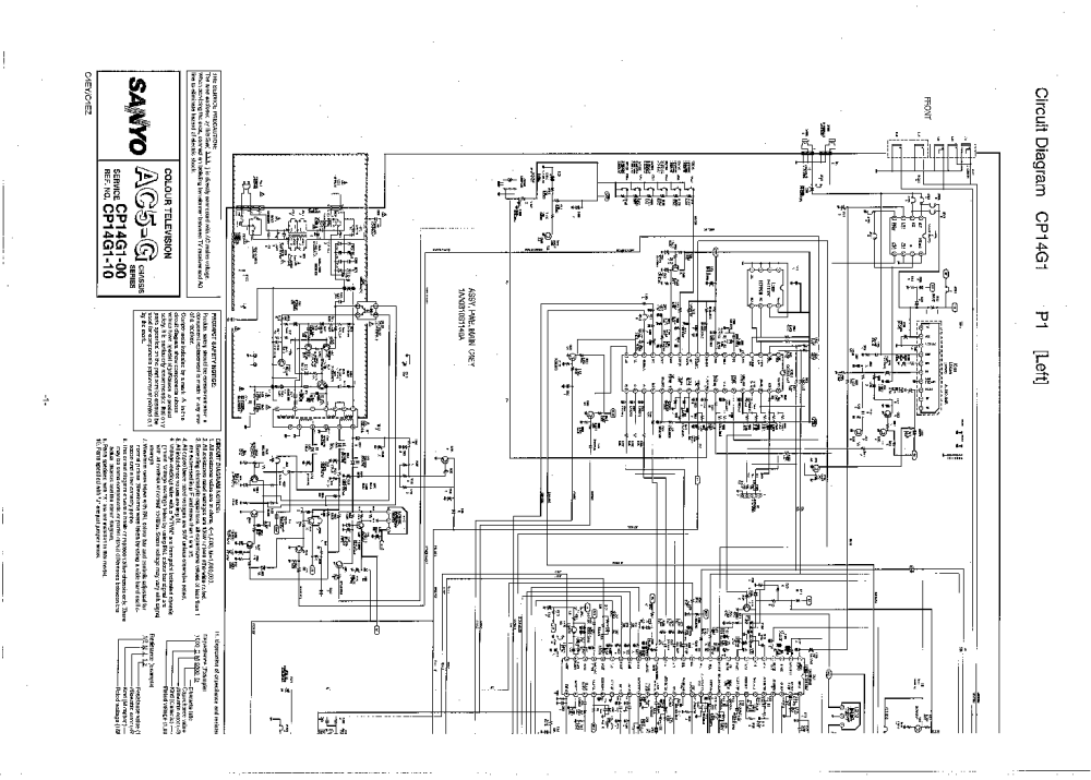 medium resolution of sanyo schematic diagram tv wiring diagram forward tv sanyo c27lw33s diagrama sanyo tv diagram