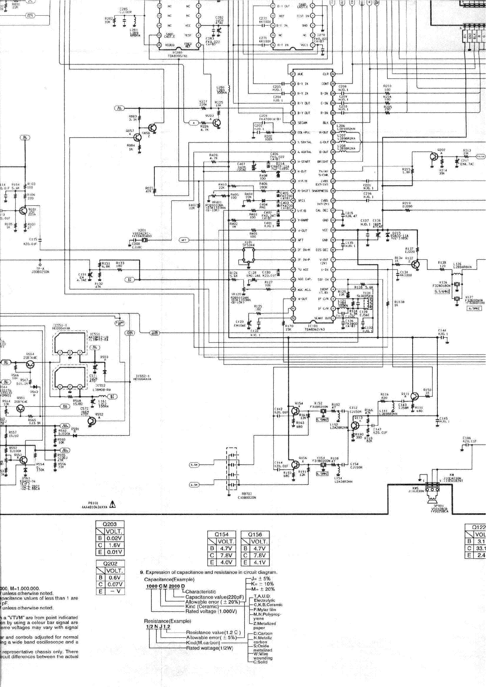 SANYO CHASSIS A7A SM Service Manual download, schematics