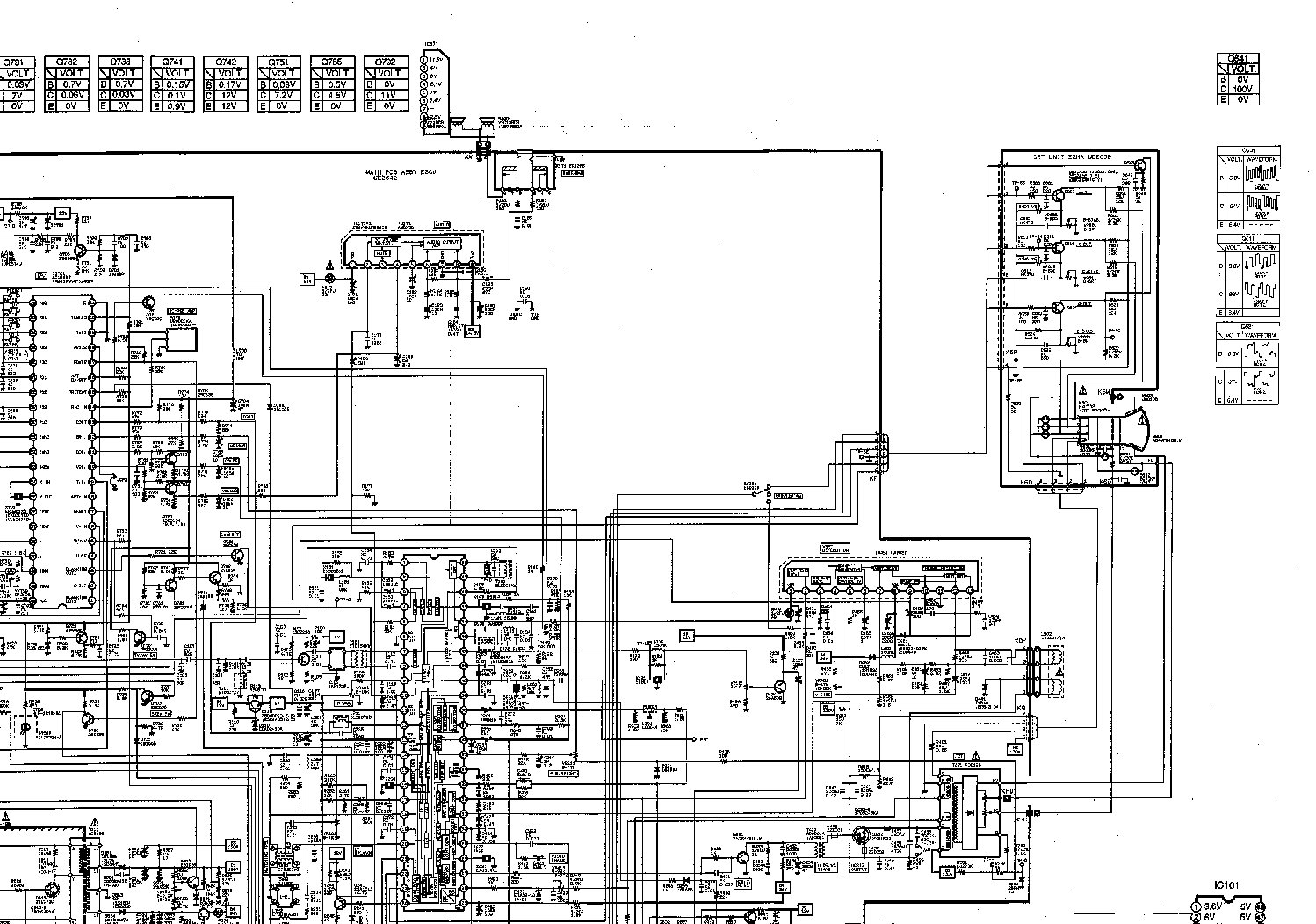 SANYO CPP3024W CH A3-A Service Manual download, schematics