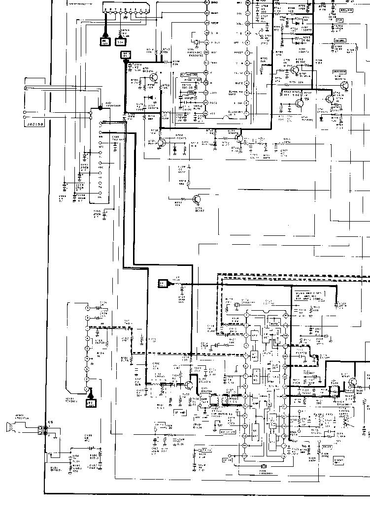 SANYO C14EA13EX CHASSIS A7-A SANYO C14EA13EX CHASSIS A7-A
